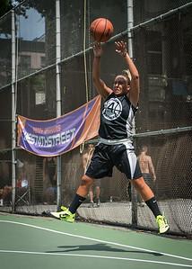 "Christie Marrone West 4th Street Women's Pro Classic NYC: Run N Shoot (Purple) 93 v Cobra Hustlers (Black) 61 , ""The Cage"", New York, NY, August 11, 2012"