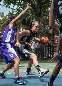 "Michelle Kurowski West 4th Street Women's Pro Classic NYC: Run N Shoot (Purple) 93 v Cobra Hustlers (Black) 61 , ""The Cage"", New York, NY, August 11, 2012"