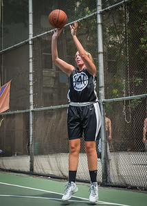 "Brianna Slooper West 4th Street Women's Pro Classic NYC: Run N Shoot (Purple) 93 v Cobra Hustlers (Black) 61 , ""The Cage"", New York, NY, August 11, 2012"