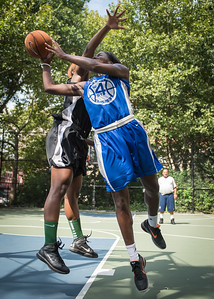 """Terry Green West 4th Street Women's Pro Classic NYC: Lady Soldiers (Blue) 70 v Down the Hatch (Black) 67, """"The Cage"""", New York, NY, August 11, 2012"""