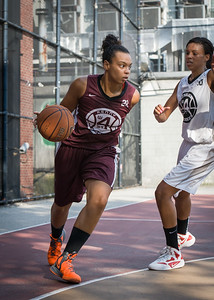 Jessica Fairweather West 4th Street Women's Pro Classic NYC: Brooklyn Express (Burgundy) 69 v Lady Falcons (Grey) 61, William F. Passannante Ballfield, New York, NY, August 11, 2012.