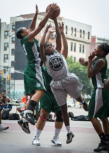 Tierra Cleaves, Shenee Clarke West 4th Street Women's Pro Classic NYC: Imperial Crew (Grey) 46 v Quiet Storm (Green) 43, William F. Passannante Ballfield, New York, NY, August 11, 2012.
