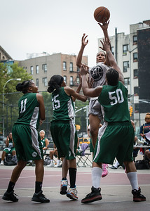 Nicky Souter, Ann Barrino, Candice Lloyd, Rachelle Brown West 4th Street Women's Pro Classic NYC: Imperial Crew (Grey) 46 v Quiet Storm (Green) 43, William F. Passannante Ballfield, New York, NY, August 11, 2012.