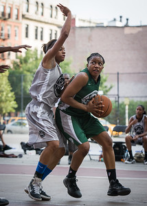 Ann Barrino, Chantal Biscette West 4th Street Women's Pro Classic NYC: Imperial Crew (Grey) 46 v Quiet Storm (Green) 43, William F. Passannante Ballfield, New York, NY, August 11, 2012.