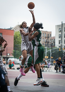 Nicky Souter, Candice Lloyd West 4th Street Women's Pro Classic NYC: Imperial Crew (Grey) 46 v Quiet Storm (Green) 43, William F. Passannante Ballfield, New York, NY, August 11, 2012.