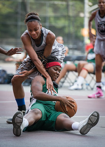 Natasha Philip, Chantal Biscette West 4th Street Women's Pro Classic NYC: Imperial Crew (Grey) 46 v Quiet Storm (Green) 43, William F. Passannante Ballfield, New York, NY, August 11, 2012.