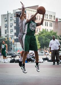 Yolanda Alford, Mallory Williams West 4th Street Women's Pro Classic NYC: Imperial Crew (Grey) 46 v Quiet Storm (Green) 43, William F. Passannante Ballfield, New York, NY, August 11, 2012.