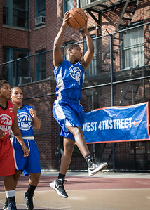 Alicia Cropper West 4th Street Women's Pro Classic NYC: Big East Ballers (Red) 95 v Lady Soldiers (Blue) 62, William F. Passannante Ballfield, New York, NY, August 12, 2012.