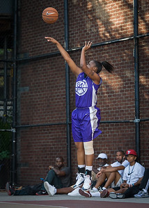 Dawn Coleman West 4th Street Women's Pro Classic NYC: Run N Shoot (Purple) 86 v Deuce Trey (Orange) 68, William F. Passannante Ballfield, New York, NY, August 12, 2012.