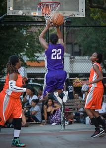 Stefanie Bingham West 4th Street Women's Pro Classic NYC: Run N Shoot (Purple) 86 v Deuce Trey (Orange) 68, William F. Passannante Ballfield, New York, NY, August 12, 2012.