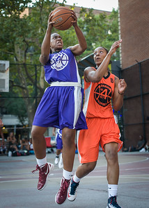 Stephany Neptune, Shantale Bramble West 4th Street Women's Pro Classic NYC: Run N Shoot (Purple) 86 v Deuce Trey (Orange) 68, William F. Passannante Ballfield, New York, NY, August 12, 2012.
