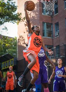 Lateefah Joye West 4th Street Women's Pro Classic NYC: Run N Shoot (Purple) 86 v Deuce Trey (Orange) 68, William F. Passannante Ballfield, New York, NY, August 12, 2012.