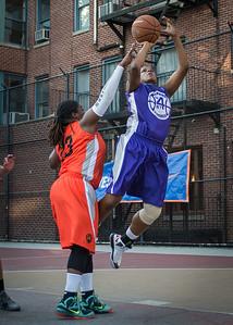 Dawn Coleman, Lawanda Greene West 4th Street Women's Pro Classic NYC: Run N Shoot (Purple) 86 v Deuce Trey (Orange) 68, William F. Passannante Ballfield, New York, NY, August 12, 2012.