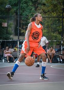 Natasha Smalls West 4th Street Women's Pro Classic NYC: Run N Shoot (Purple) 86 v Deuce Trey (Orange) 68, William F. Passannante Ballfield, New York, NY, August 12, 2012.