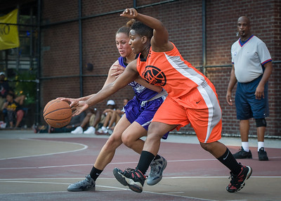 Thanzina Cook, Shac Campbell West 4th Street Women's Pro Classic NYC: Run N Shoot (Purple) 86 v Deuce Trey (Orange) 68, William F. Passannante Ballfield, New York, NY, August 12, 2012.