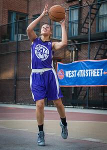 Thanzina Cook West 4th Street Women's Pro Classic NYC: Run N Shoot (Purple) 86 v Deuce Trey (Orange) 68, William F. Passannante Ballfield, New York, NY, August 12, 2012.