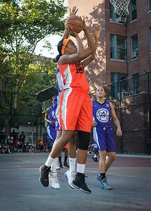 Ayesha Barkley West 4th Street Women's Pro Classic NYC: Run N Shoot (Purple) 86 v Deuce Trey (Orange) 68, William F. Passannante Ballfield, New York, NY, August 12, 2012.