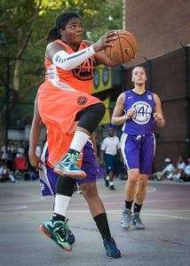 Lawanda Greene West 4th Street Women's Pro Classic NYC: Run N Shoot (Purple) 86 v Deuce Trey (Orange) 68, William F. Passannante Ballfield, New York, NY, August 12, 2012.