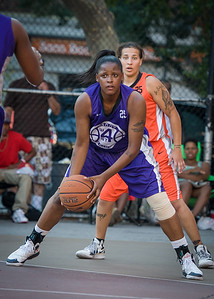 Dawn Coleman, Nicky Young West 4th Street Women's Pro Classic NYC: Run N Shoot (Purple) 86 v Deuce Trey (Orange) 68, William F. Passannante Ballfield, New York, NY, August 12, 2012.