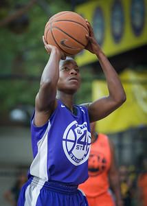 Ashley Clarke West 4th Street Women's Pro Classic NYC: Run N Shoot (Purple) 86 v Deuce Trey (Orange) 68, William F. Passannante Ballfield, New York, NY, August 12, 2012.