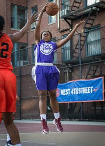 Stephany Neptune West 4th Street Women's Pro Classic NYC: Run N Shoot (Purple) 86 v Deuce Trey (Orange) 68, William F. Passannante Ballfield, New York, NY, August 12, 2012.
