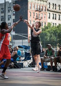 Amanda Buraskowski West 4th Street Women's Pro Classic NYC: Big East Ballers (Red) 77 v Down The Hatch (Black) 61, William F. Passannante Ballfield, New York, NY, July 7, 2012
