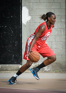 Michelle Campbell West 4th Street Women's Pro Classic NYC: Big East Ballers (Red) 77 v Down The Hatch (Black) 61, William F. Passannante Ballfield, New York, NY, July 7, 2012
