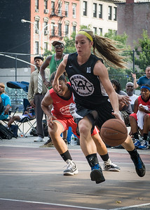 Candice Bellochio West 4th Street Women's Pro Classic NYC: Big East Ballers (Red) 77 v Down The Hatch (Black) 61, William F. Passannante Ballfield, New York, NY, July 7, 2012