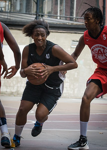 Aziza Patterson West 4th Street Women's Pro Classic NYC: Big East Ballers (Red) 77 v Down The Hatch (Black) 61, William F. Passannante Ballfield, New York, NY, July 7, 2012