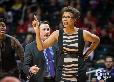 LSA head coach Nikki Caldwell
