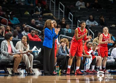 Rutgers head coach C. Vivian Stringer