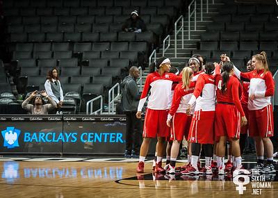 Rutgers pregame huddle