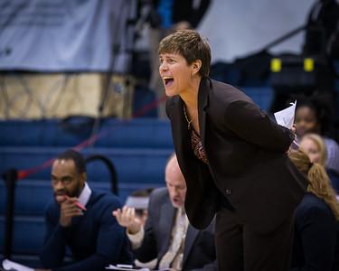 LIU Brooklyn head coach Gail Striegler