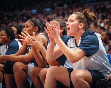 NCAA Women's Basketball: Maggie Dixon Classic: Connecticut Huskies 77 vs Penn State 63, Madison Square Garden, Dec 14, 2008
