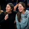 UConn alumna Sue Bird enjoying the game