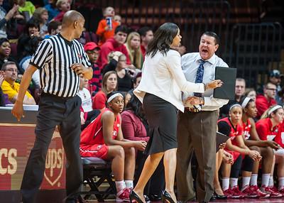Georgia head coach Andy Landers
