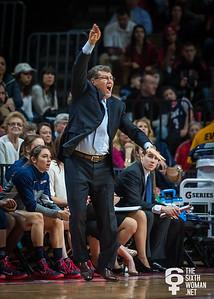Connecticut head coach Geno Auriemma