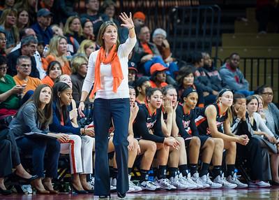 Princeton head coach Courtney Banghart.