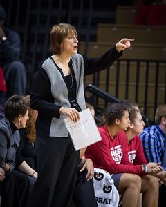 Nebraska head coach Connie Yori
