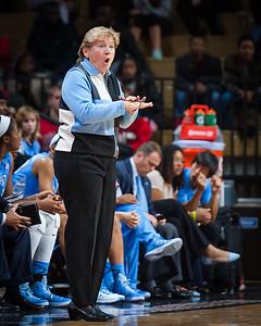 UNC head coach Sylvia Hatchell