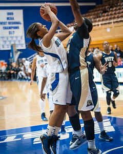 Brittany Morris #2, Chyna Golden #34