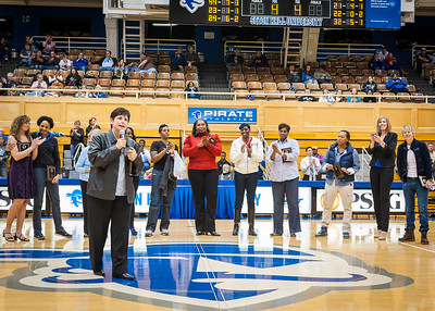 Head Coach Phyllis Mangina and the team, 20th Anniversary Celebration of 1993-1994 Sweet 16 Team 20th Anniversary Celebration of 1993-1994 Sweet 16 Team