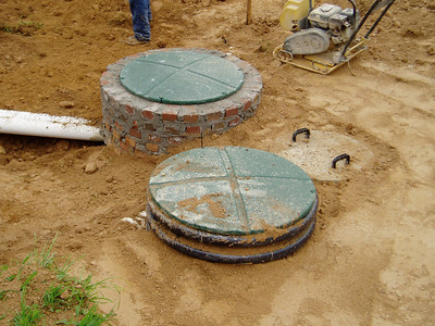 Irrigation collection tanks