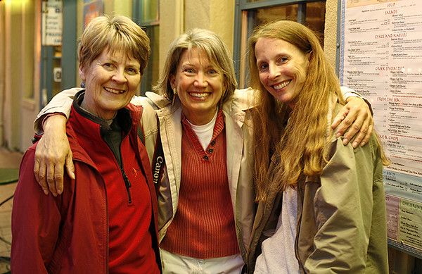 Margaret, Donna and Teresa