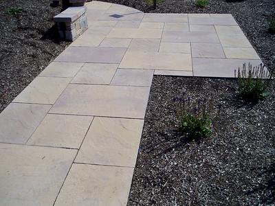 Hanover sidewalk and patio
