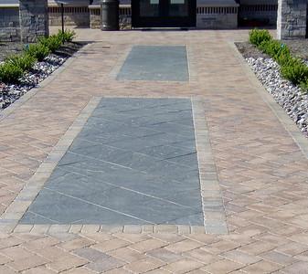 Hanover paver sidewalks