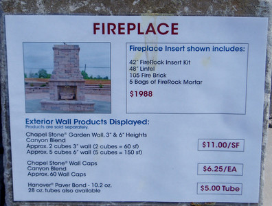Hanover fireplace- tall design, information