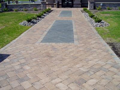 Hanover paver sidewalk