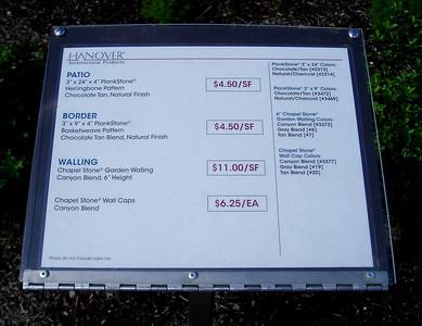 Hanover plank stone information