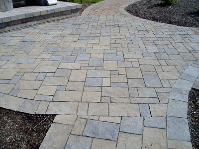 Halifax flagstone walkway by Hanover